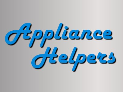 Appliance Helpers