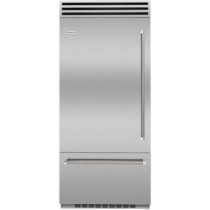 BlueStar Refrigerator Model BBB36L2CCPLT