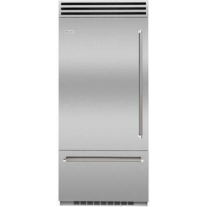 BlueStar Refrigerator Model BBB36L2CPLT