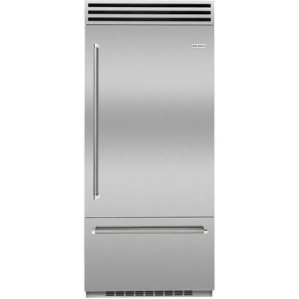 BlueStar Refrigerator Model BBB36R2CFPLT