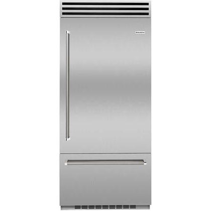 BlueStar Refrigerator Model BBB36R2CPLT